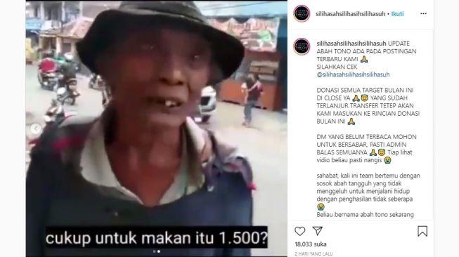 75559 kisah kakek penjual beras bekas