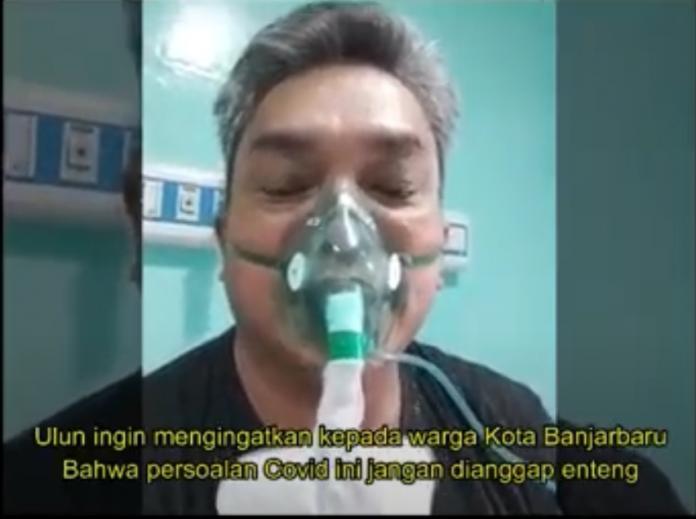 Walikota Banjarbaru, H. Nadjmi Adhani Dalam Unggahan Video