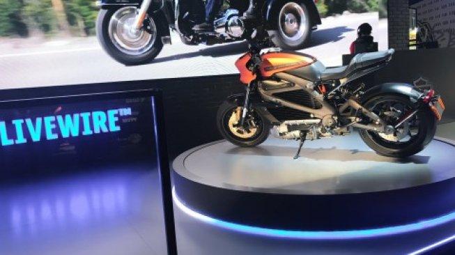 96642 harley davidson sepeda motor listrik