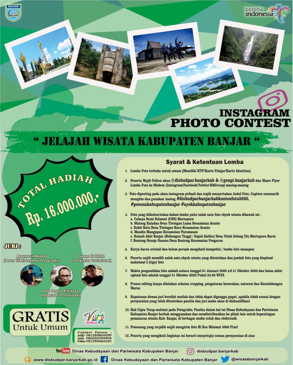 Promosi Wisata Dengan Foto Habar Kalimantan