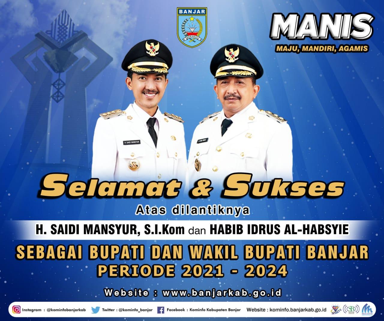 Banner Ucapan Selamat Saidi