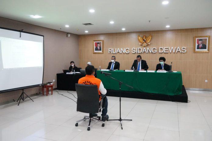Putusan Etik Dewas atas nama SRP