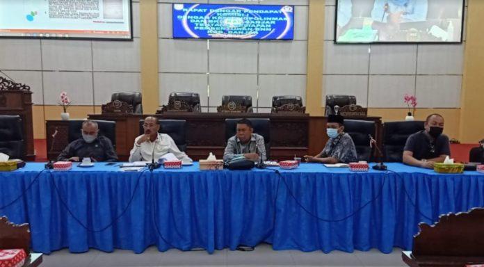 man menyebutkan pembentukan BNNK Banjar telah diwacanakan sejak 2017 namun terkendala moratorium